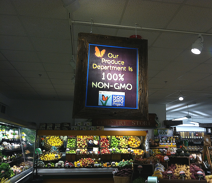non gmo produce photo